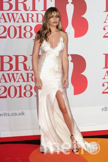 BRIT Awards 2018. Abbey Clancy. Фото Getty