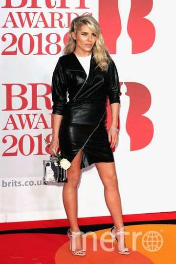 BRIT Awards 2018. Молли Кинг. Фото Getty