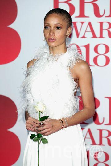 BRIT Awards 2018. Модель Адва Абоа. Фото Getty