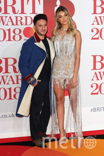 BRIT Awards 2018. Мелинда Лондон. Фото Getty