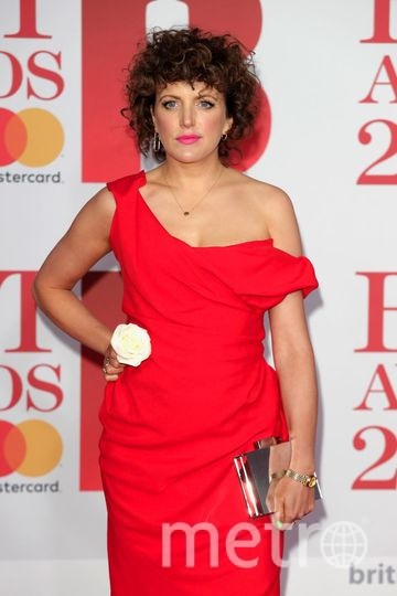 BRIT Awards 2018. Annie Mac. Фото Getty
