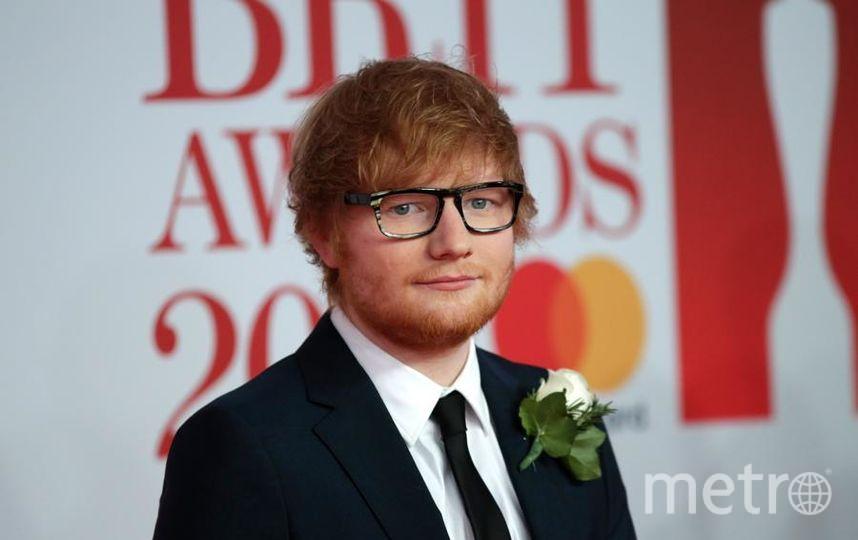 BRIT Awards 2018. Эд Ширан. Фото Getty