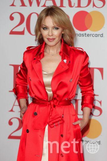 BRIT Awards 2018. Кайли Миноуг. Фото Getty