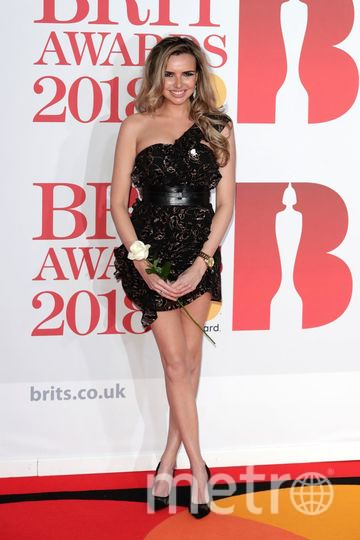 BRIT Awards 2018. Надин Койл. Фото Getty