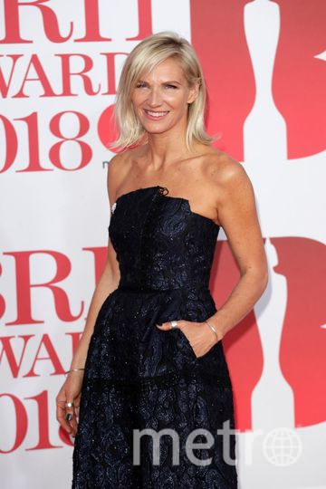 BRIT Awards 2018. Jo Whiley. Фото Getty