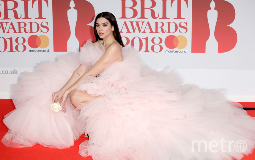 BRIT Awards 2018. Дуа Липа. Фото Getty