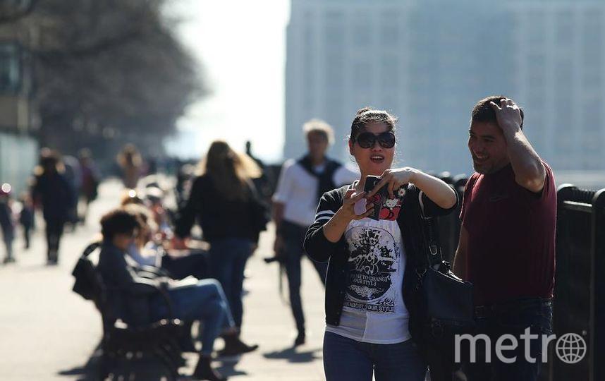 Аномально тепло было в Нью-Йорке 21 февраля. Фото Getty