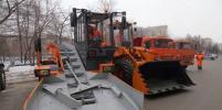 Город получил первую партию новой уборочной техники