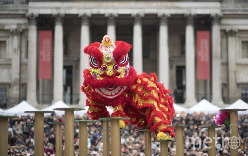 Китайский Новый год. Фото AFP