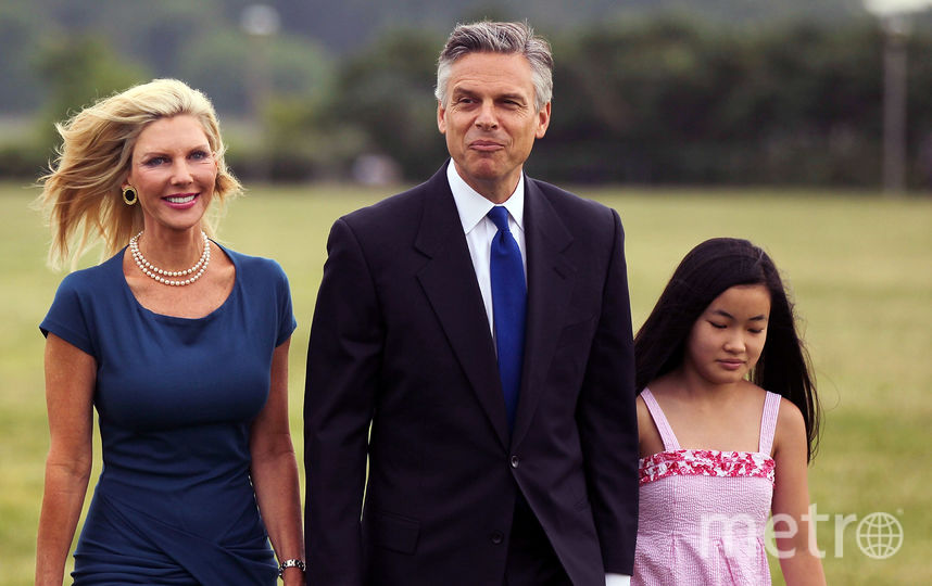 Посол США Джон Хантсман и его семья. Фото Getty