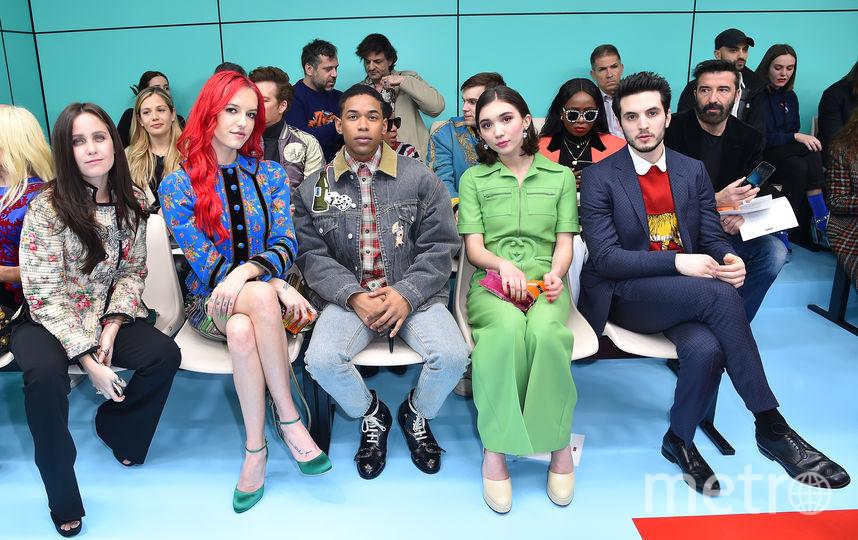 Гости показа Gucci. Фото Getty