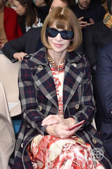 Гости показа Gucci. Анна Винтур. Фото Getty