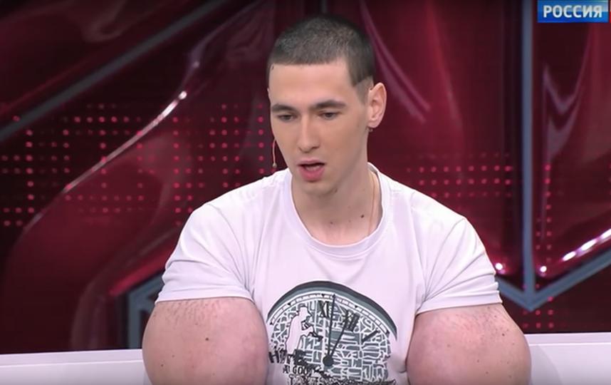 "Кирилл ""руки-базуки"". Фото Скриншот Youtube"