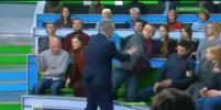 Ведущий НТВ в прямом эфире набросился на украинского эксперта. Видео