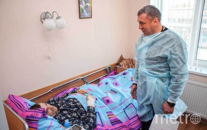 Игорь Албин навестил Александра Игнатьева. Фото vk.com/igor_albin, vk.com