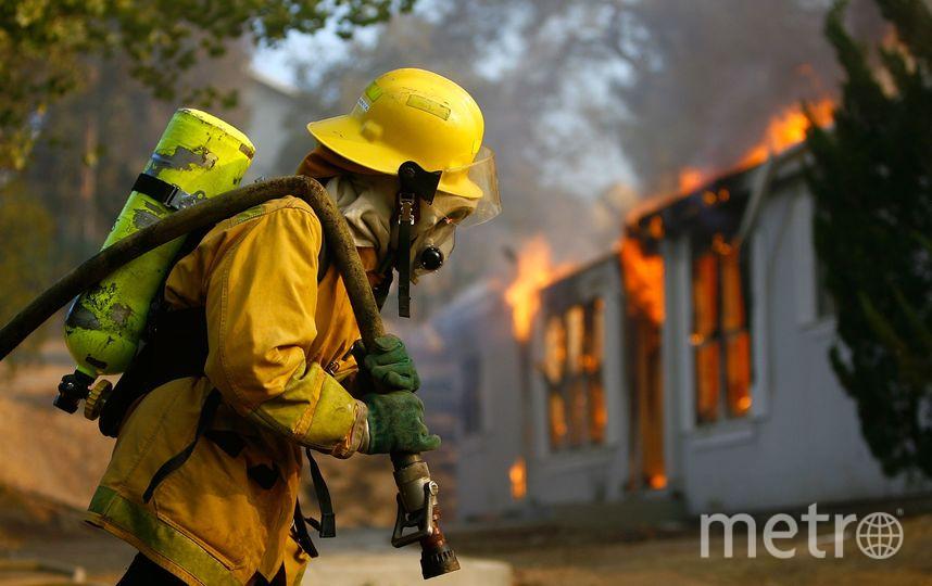 Пожар. Фото Getty