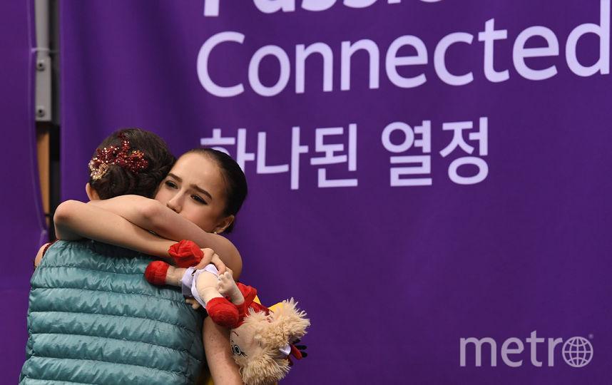 Медведева в Пхенчхане, прозивольная программа. Фото AFP