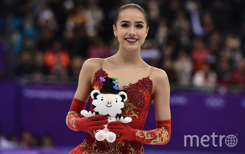Алина Загитова стала олимпийской чемпионкой в 15 лет. Фото AFP