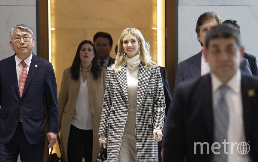 Иванка Трамп прибыла с официальным визитом. Фото Getty