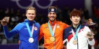 Голландский конькобежец завоевал