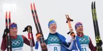 Лыжники Большунов и Ларьков принесли России серебро и бронзу в гонке на 50 км