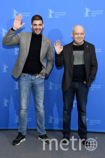 Милан Марич и Алексей Герман-младший на Берлинале. Фото Getty