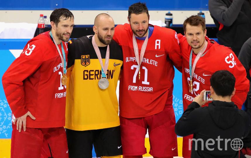Сборная России обыграла немцев и выиграла золото Олимпиады. Фото Getty