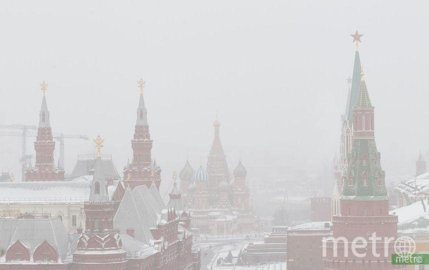 """Заснеженная Москва. Фото Василий Кузьмичёнок, """"Metro"""""""