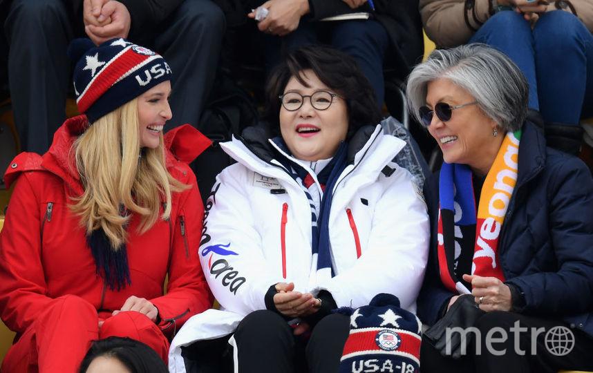 Иванка Трамп на Олимпийских играх - 2018. Фото Getty