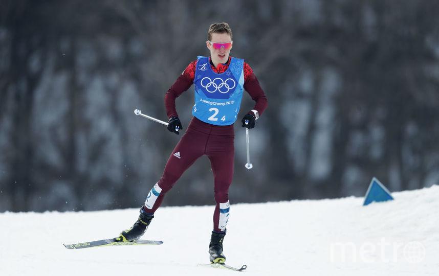 Денис Спицов, бронзовый призер ОИ - 2018. Фото Getty
