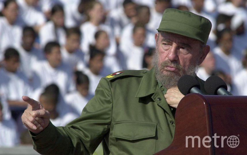 Фидель Кастро. Фото Getty
