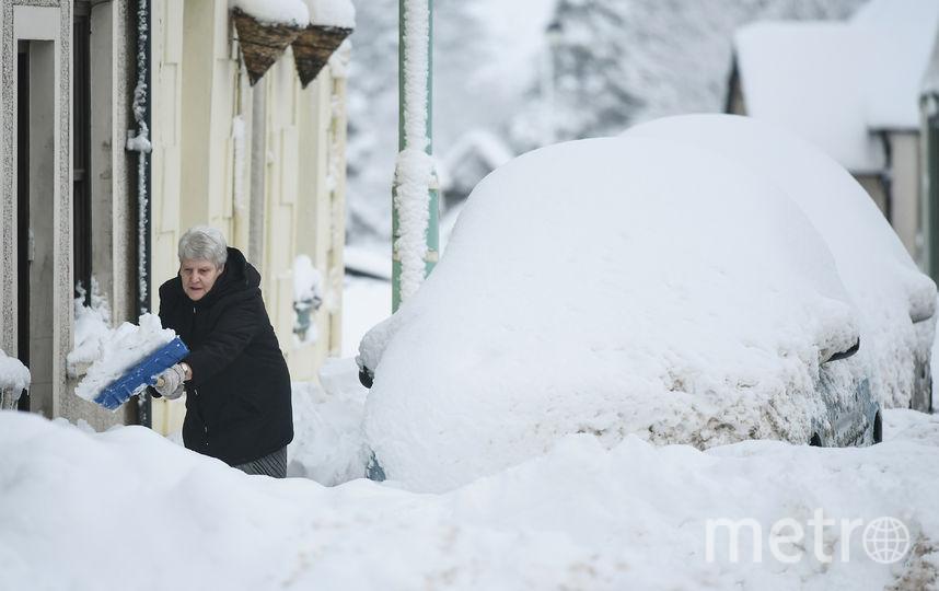 Зима не хочет отступать в Петербурге. Фото Getty