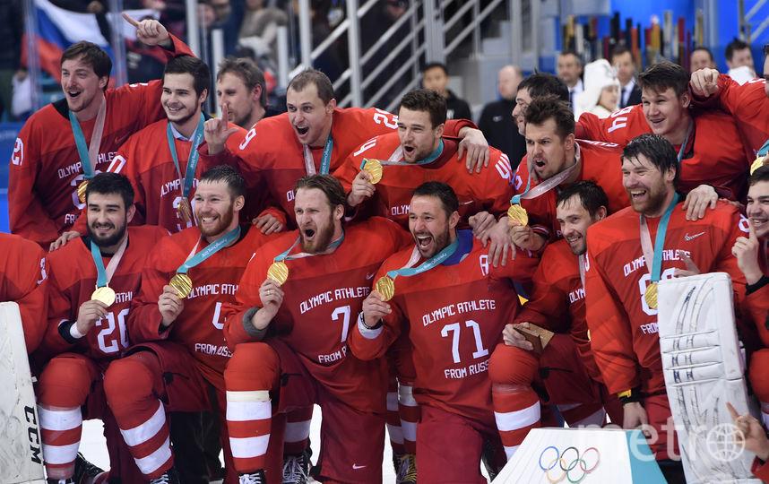 Вклад в победу сборной России на Олимпиаде внесли все 25 игроков, но некоторых из них можно отметить особо. Фото AFP