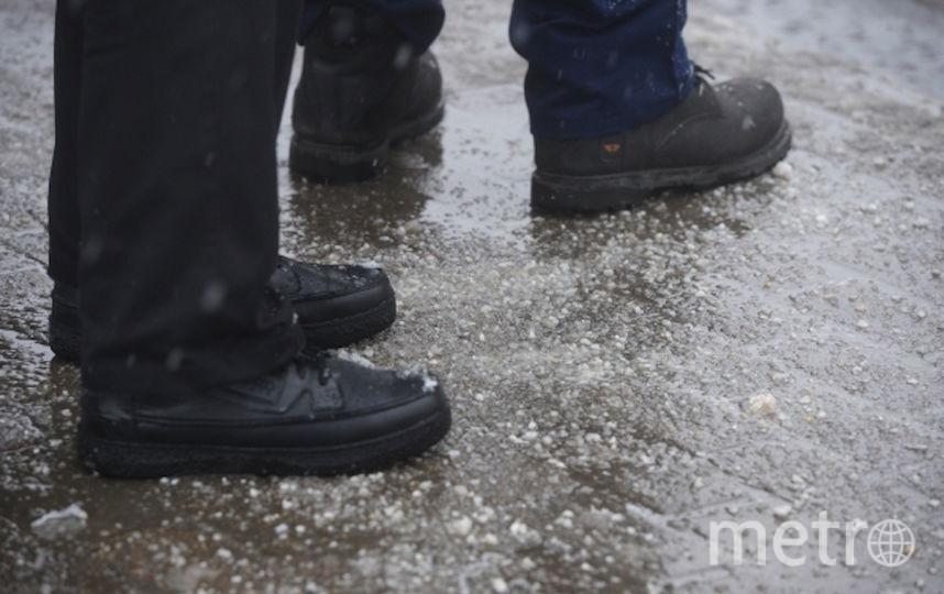 Мэрия продолжит борьбу с разводами на ботинках москвичей. Фото РИА Новости