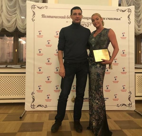 Анастасия Волочкова с Михаилом. Фото Скриншот Instagram: volochkova_art