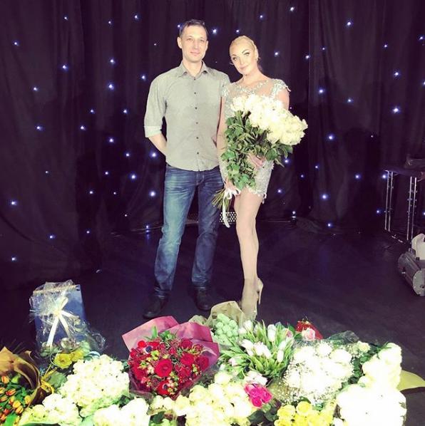 Анастасия Волочкова с Михаилом. Фото Скриншот Instagram: laginru