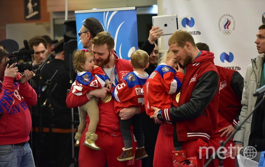 """Наши хоккеисты. Фото Василий Кузьмичёнок, """"Metro"""""""