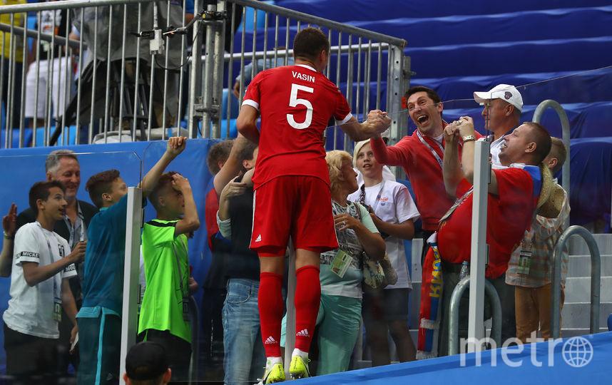 Российский футболист Виктор Васин. Фото Getty