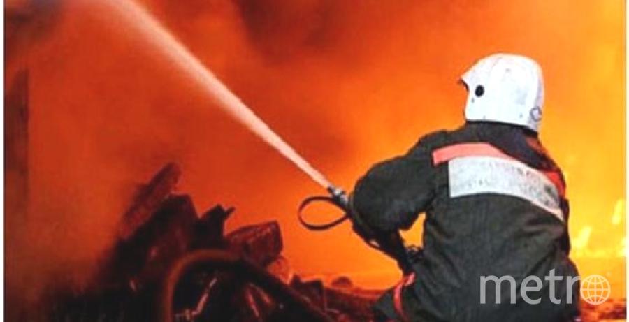 Пожарные в Ленобласти спасли людей. Фото архив
