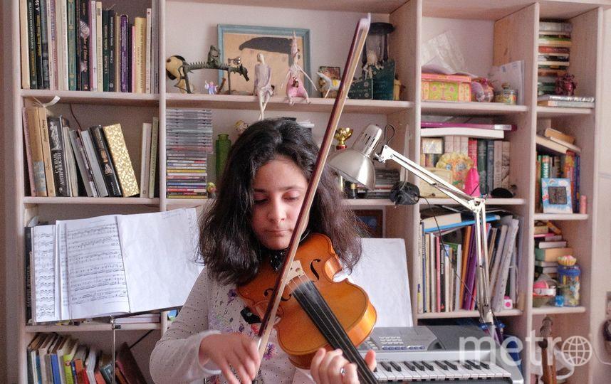 """Ева Герр мечтает стать музыкантом. Фото Алена Бобрович, """"Metro"""""""