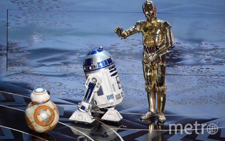 """Роботы из """"Звездных войн"""" в 2016-м. Фото Getty"""