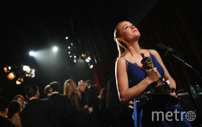 Бри Ларсон - Лучшая актриса в 2016 году. Фото Getty