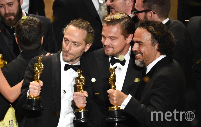 """Леонардо ди Каприо получил все же свой """"Оскар"""" в 2016 году. Фото Getty"""