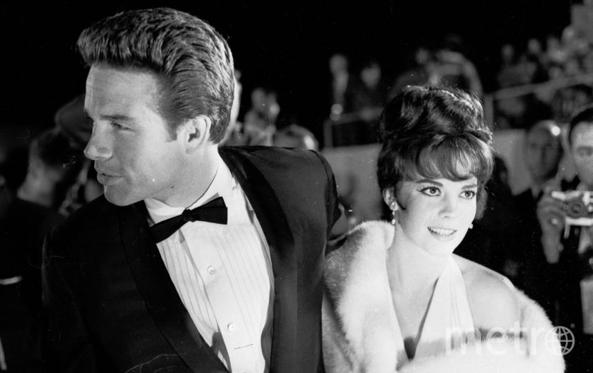 """Знаменитые парочки """"Оскара"""". Натали Вуд и Уоррен Битти. 1962. Фото Getty"""