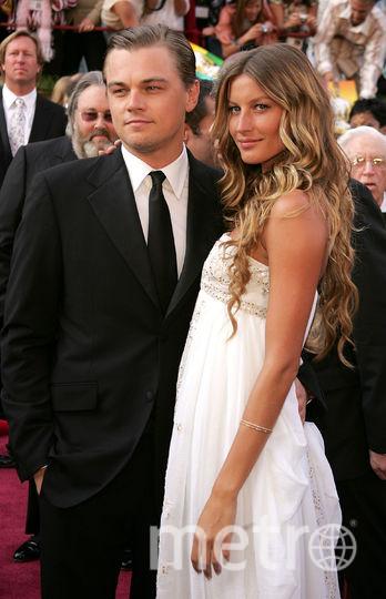 """Знаменитые парочки """"Оскара"""". Ди Каприо и Жизель Бундхен. 2005 год. Фото Getty"""
