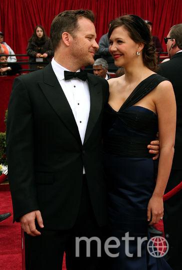 "Знаменитые парочки ""Оскара"". Мегги Джилленхолл и Питер Сарсгаард. 2007. Фото Getty"