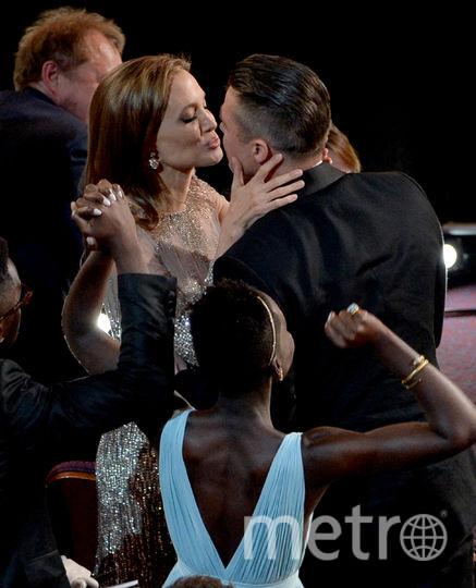"Знаменитые парочки ""Оскара"". Анджелина Джоли и Брэд Питт. 2014 год. Фото Getty"