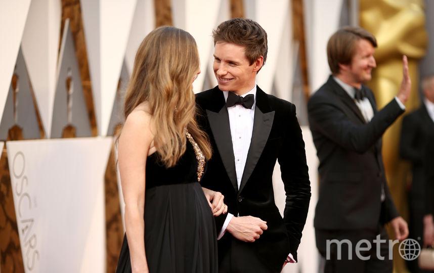 """Знаменитые парочки """"Оскара"""". Эдди Редмейн с женой. Фото Getty"""