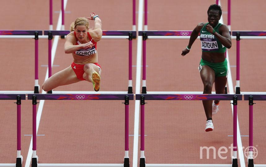Шон Адиган на Олимпиаде в Лондоне. Фото Getty
