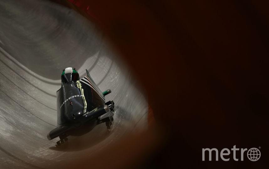 Шон Адиган и Акуома Омеога на трассе. Фото Getty